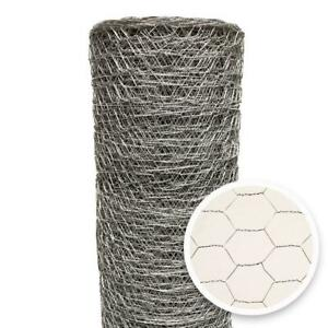 Galvanized Wire Mesh Poultry Netting Hexagonal Mesh Weave Fencing 2 x 6ft X150ft