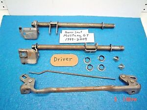 Mar 1999 2000 Ford Mustang Part Driver Power Seat Frame Mount To Track