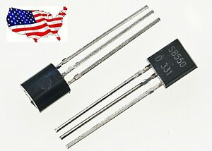S8550 20 Pcs To 92 1 5a 0 625w Pnp Audio Transistor From Usa