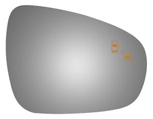 For 13 18 Lexus Es300h Right Side Ec Fit Over Convex Mirror Glass Blind Spot