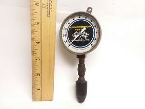 Vintage Radatron Compression Tester 2 1 2 Face 0 300 Racing Flags