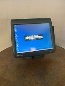 Micros Workstation 5a With Stand 400814 101 400825 001