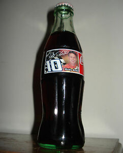FULL 1998 RICKY RUDD COMMEMORATIVE 8 OZ COCA-COLA BOTTLE