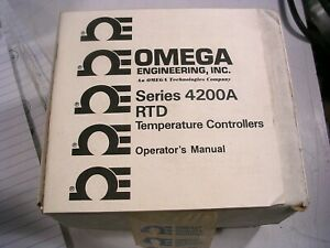 New Omega 1 4 Din Rtd Digital Controllers nos