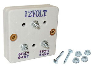 1937 54 Chevy Ford Dodge Universal Voltage Drop For 6 Volt 6 Amp Accessories