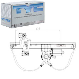 Tyc 660510 Power Window Motor And Regulator Assembly For General Motors Es