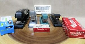 Vintage Staplers Swingline Bostitch Lot Of 4 Free Shipping