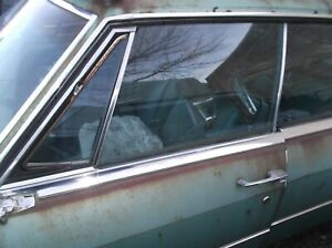 1965 1966 Cadillac Sedan Deville Window Glass For Doors And Other Parts