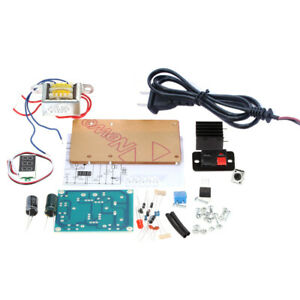 Continuously Adjustable Regulated Voltage Power Supply Diy Kit transformer