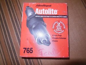 Automate 765 Spark Plugs 4 Pack Allied Signal Copper Core