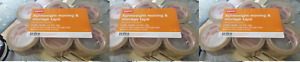 New 3x Staples Lightweight Moving Storage Packing Shipping Tape 6 Rolls pack Tan