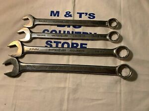 Matco Tools Usa 4pc 12pt Metric Combination Wrench Set Wcl Series