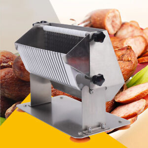Commercial Tomato Slicer Fruit Vegetable Cutter Sausage Tomato Cutting Machine
