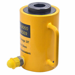 Industrial Rch 3050 Hydraulic Hollow Hole Cylinder Jack Ram 30 T Max stroke 50mm