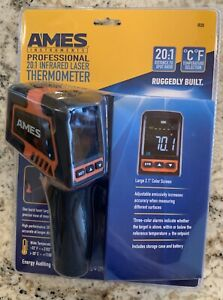 Ames Ir20 Pro 20 1 Infrared Ir Laser Adult Baby 20ft Non contact Thermometer Gun