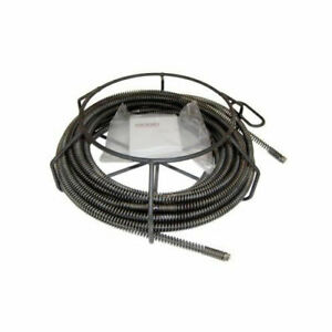 Ridgid 48472 A 35 Drain Cleaner Cable Kit W C 8 5 8 X 7 1 2 Sectional Cables