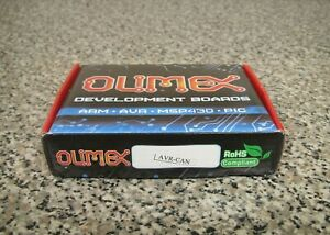 New Olimex Avr can At90can128 Rs232 Avr Can Atmel Controller Development Board