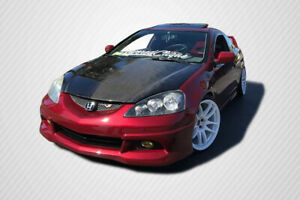 Carbon Fiber Oe Style Hood For Rsx Acura 02 06 Carbon Creations Ed2100384