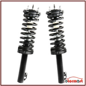 For Jeep Commander Grand Cherokee Front Complete Shock Struts W Coil Spring