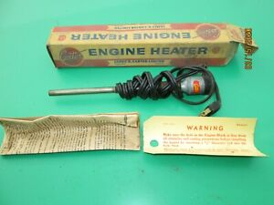 Antique Vintage Motorcar Truck Tractor Carter Headbolt Motor Engine Heater Nos