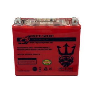 Neptune Ytx12 bs High Performance maintenance Free Gel Agm Motorcycle Battery