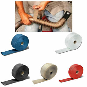 Car Motorcycle Shield Exhaust Pipe Bandage Thermal Wrap Insulation Cotton Tape