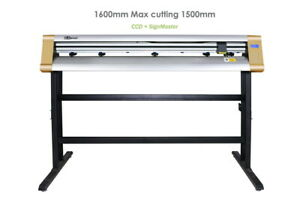 1600mm Ccd Auto Contour Cutter Plotter For Car Wrap Vinyl Cutting 63 signmaster