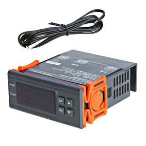 220v Digital Temperature Controller Thermocouple 40 To 120 With Sensor K3g5