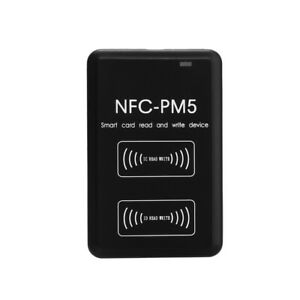 Nfc pm5 Contactless Smart Reader Writer Rfi d Copier Ic I d Duplicator Us U9z3