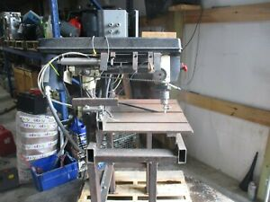Shop Fox W1669 Bench Radial Drill Press Serial 11189 1725 Rpm 319140t Used