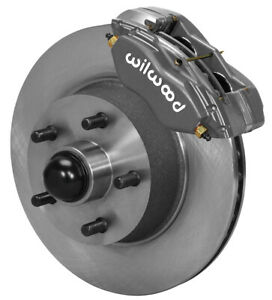 Wilwood Disc Brake Kit front 65 69 Ford mercury 11 30 Rotors lines pads mustang