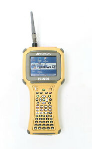 Topcon Fc 2200 Field Controller Data Collector With Rs 3 Module