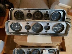 1960 1961 1962 63 64 65 66 Gmc Truck Instrument Gauge Cluster Panel