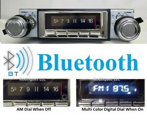 1975 1979 Ford Truck Bluetooth Stereo Radio Multi Color Display 740