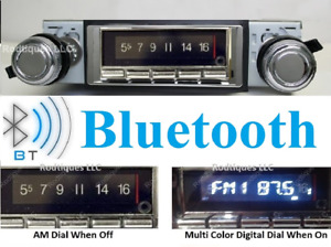 1962 1963 Cutlass F85 Bluetooth Stereo Radio Multi Color Display Usa 740