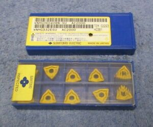 Sumitomo Carbide Inserts Wnmg 332 Esu Grade Ac2000 Pack Of 10