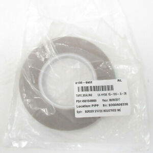 Cs Hyde 0 5 In X 36 Yd Skived Ptfe Tape Teflon Silicone Adhesiv 15 10s 5 36