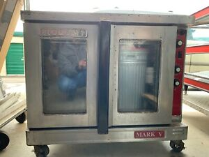 Electric Convection Oven Single Stack Full Sheet Nsf Blodgett Mark V 111