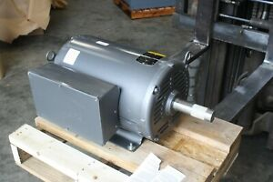 New Baldor 16 Hp 1760 Electric Motor Grain Dryer Fan 1 Phase 256tz Cat Gdl1615t