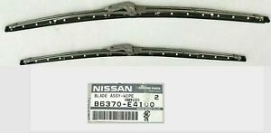 Datsun 240z 260z 280z 1969 76 Windshield Wiper Blade Set Genuine Nissan Oem Nos