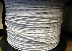 M27500 20sp2s23 20 Awg 2 Conductor Mil Spec Wire Cable Silver plated Copper