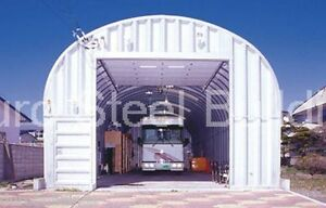 Durospan Steel 30 x40 x15 Metal Garage Workshop Storage Building Factory Direct