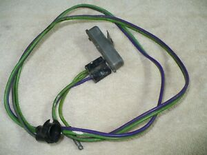 1967 1968 1969 Mustang Shelby Cougar Boss Seat Belt Warning Relay And Harness