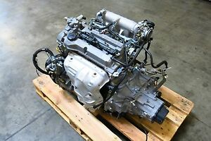 Jdm 99 03 Mazda Protege 323 Familia Zl 1 5l Dohc Engine 5 Speed Transmission