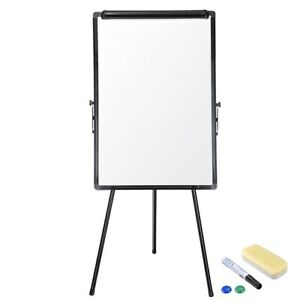 Adjustable Tripod Stand Dry Erase Magnetic Writing Whiteboard School Office Home