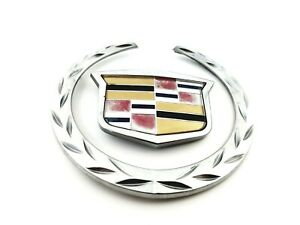 03 07 Cadillac Cts 04 09 Xlr Front Grille Oem Emblem Badge W Adhesive 2006