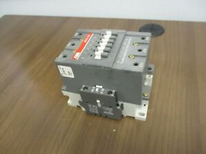 Abb Contactor Ae95 30 48vdc Coil 125a 600v W 2 Aux Contacts Used