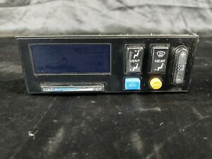 1988 94 Chevrolet 1500 2500 Heater Climate Control Switch Black 5 Button Only