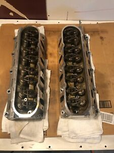 Chevy Gm 5 3 Cylinder Heads 243 Casting pair Ls6 Heads