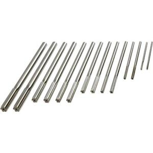 Grizzly H5603 Over under Chucking Reamer 14 Pc Set
